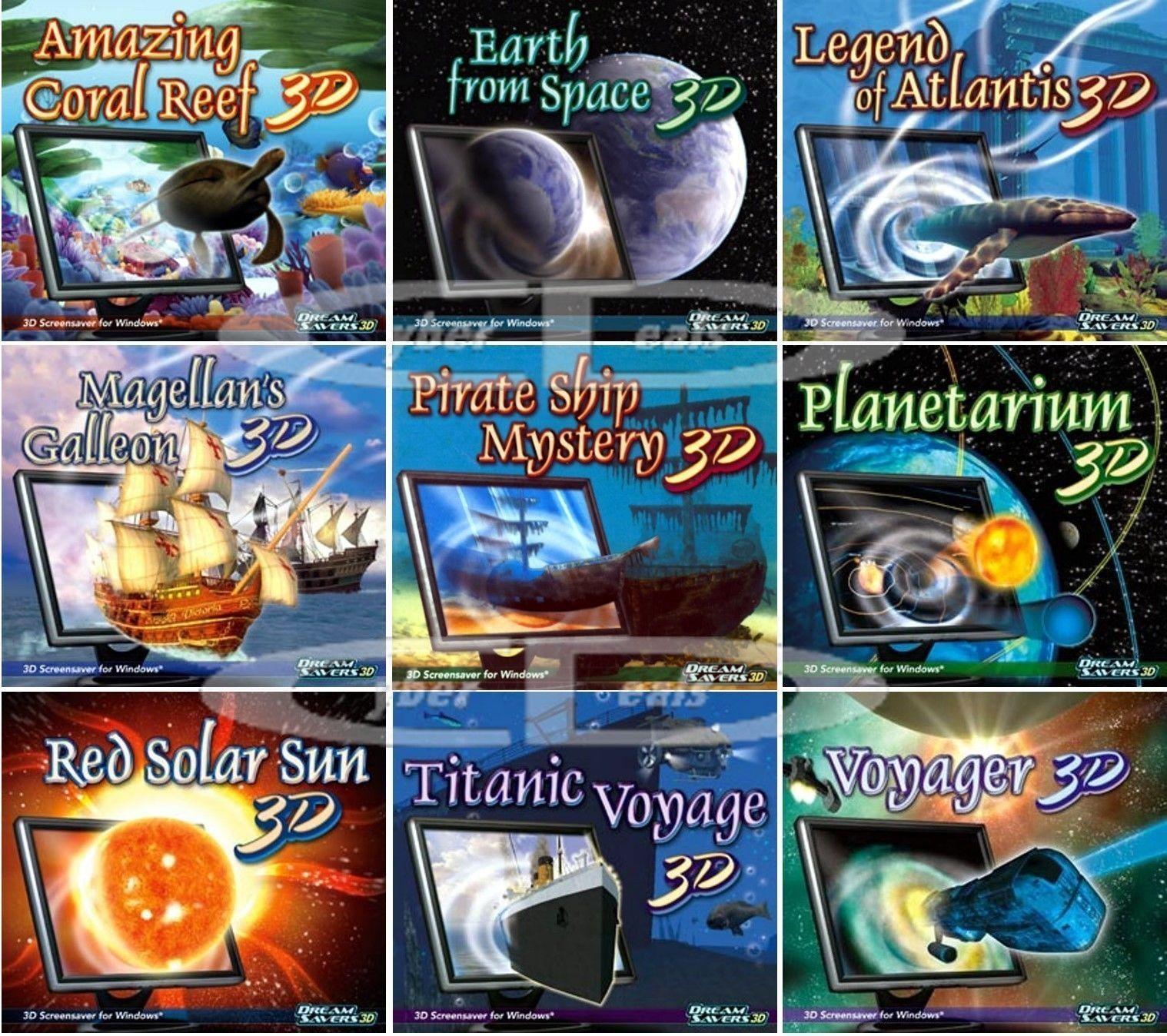 dreamsaver ocean sea space screensavers cyber deals on ebay
